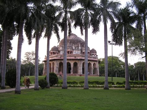 Ruins, Lodhi Gardens. Delhi, India. 2005