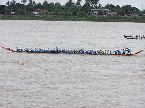 Dragon boat races, Vientianne, Laos, 2006.