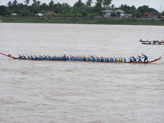 Dragon boat races, Vientianne, Laos, 2006.