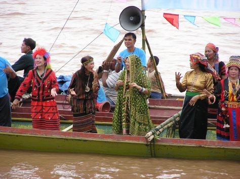 Mekong River festival, Vientianne, Laos. 2006