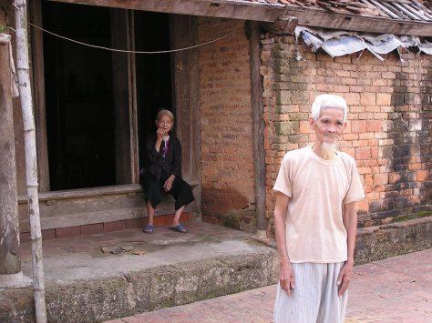 Vietnamese couple near Hanoi. 2006