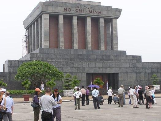 Ho Chi Minh's tomb. Hanoi, Vietnam. 2006
