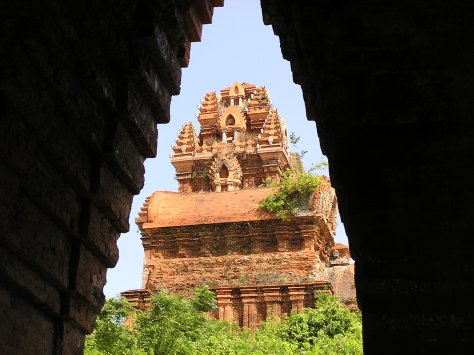 Cham temple ruins. Vietnam. 2006