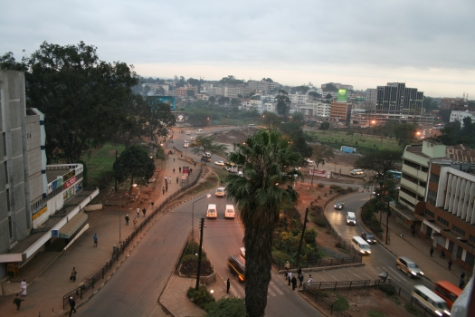 Nairobi skyline. Nairobi, Kenya 2007