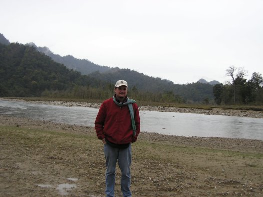 Me in Babai Valley, Bardia National Park, Nepal. 2007
