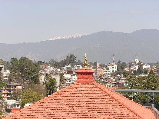 High Himalayas above Kathmandu, Nepal. 2007
