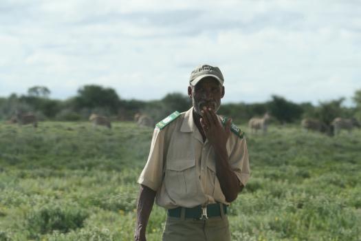 Namibian ranger.