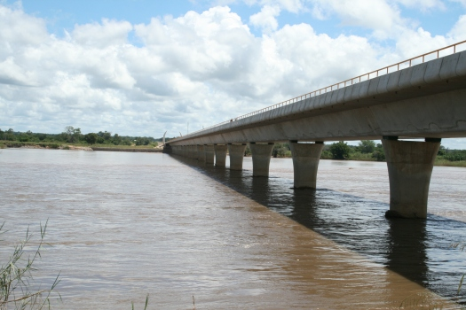 Ruvuma River from Mozambican side.