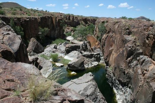 Desert oasis, Kunene Region, Namibia