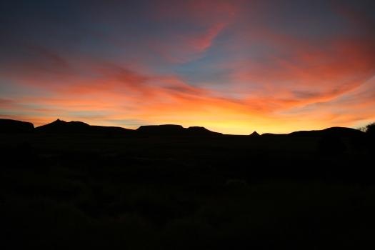 Sunset, Wereldsend, Namibia